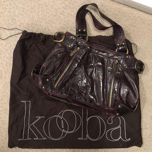 Deep purple beautiful Kooba handbag!